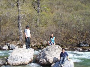 My family at Hatcher Pass.