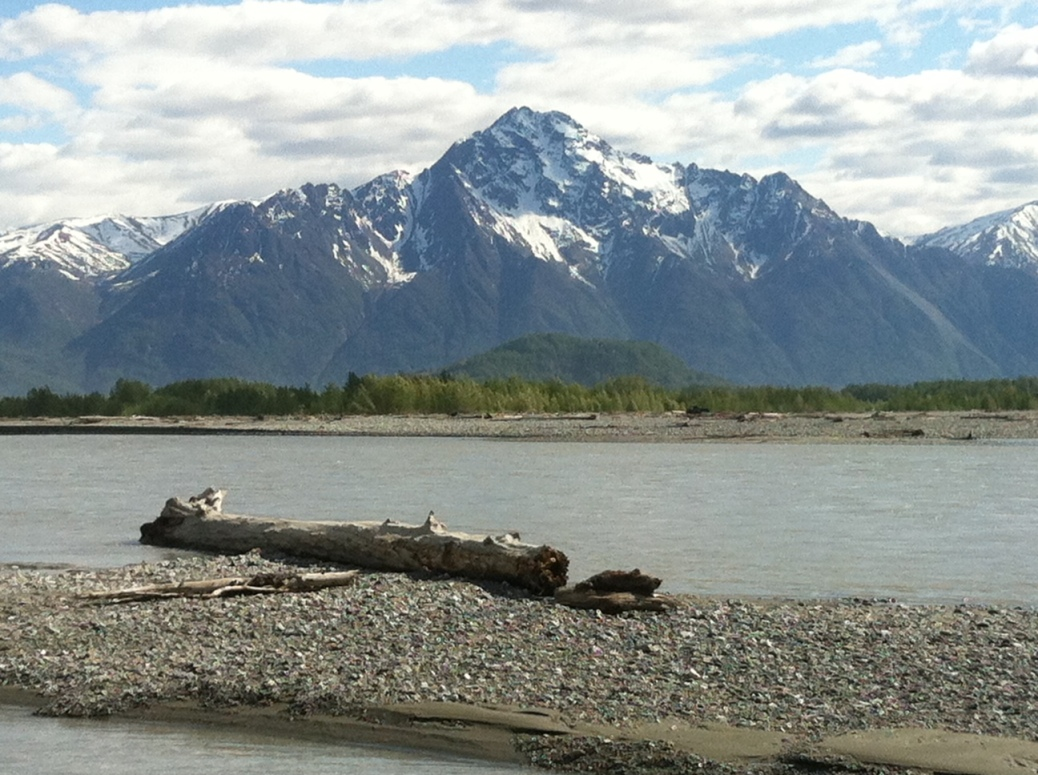 Pioneer Peak and Matanuska River